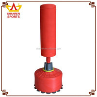Boxing at home Leather bags kick boxing punching bag