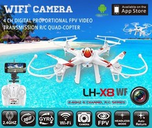 2015 Newest 2.4G 4ch 6axis Gyro iPhone/iPad/Android Wifi Control FPV Quadcopter,Wifi Control FPV Drone with Camera