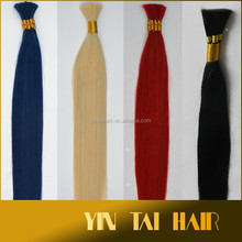 6A Human Hair Bulk 100% remy Hair Extension Unprocessed Virgin Brazilian Hair Bulk Braiding no Attachment