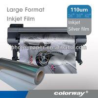 "36"" 30M 125um Matte Silver Inkjet Film"