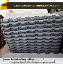 stone coated roofing palm tree thatch stone coated metal/steel roof tile