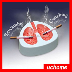 UCHOME Creative Item Coughing Ashtray The Voice Ashtray Cough Lung Ashtray Promotion