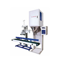 china made PLC control powder filling machine 10kg to 50kg for food packing