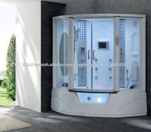 sala de vapor ducha cabina de ducha cabina de ducha con jacuzzi bañera de masaje spa g152