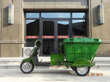 Newlt developed Electric cargo tricycle with cabin