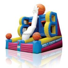 inflatable game,inflatable basketball game,inflatable basketball shoot hoop