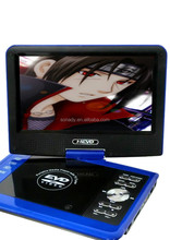 9.8 inch multiple blue portable DVD Player just need 30 USD
