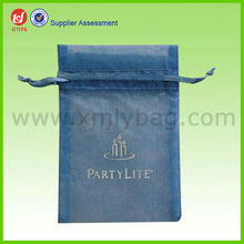 Hot Sale Net Gift Bags,Gift Bags with Company Logo,Sheer Mesh Drawstring Gift Bags