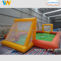 Inflatable Football field Soccer Soap Playground Sports Games