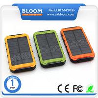 Hot sale new innovation solar charger ,solar power bank mobile power solar solution