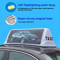 bigest taxi roof advertising light box led car taxi roof advertising top top light