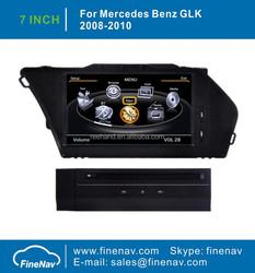 7inch FineNav 3G/WIFI Special Car DVD For Benz GLK With GPS Radio Bluetooth iPod A8 Chipset 1G CPU Free Map