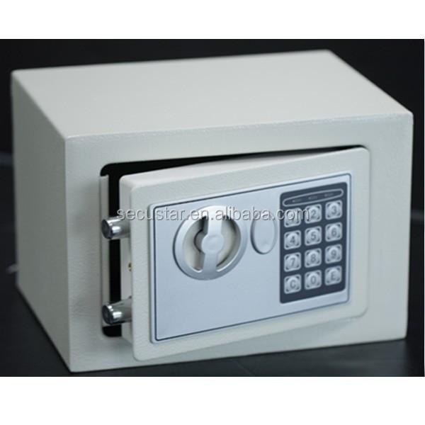Secustar Mini Electronics Safe E17 Personal Safe Hotel