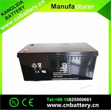Rechargeable Deep Cycle Battery Solar,Gel Vrla Battery Manufucturer 12volt 200ah
