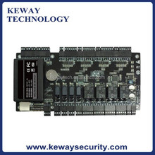 Wiegand Access Control Board, TCP/IP 4 Door Access Control with Power Supply Control Box, Four Door One way Access Control Panel