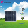 High quality cheap high efficiency 30w mono solar panel