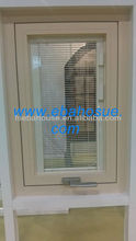 aluminum windows with built-in blinds AS2047 australia standard High Quality Window window grill design