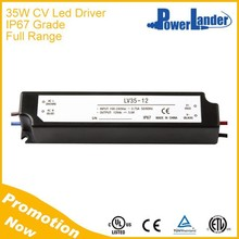 IP67 Grade 35W 12V Constant Voltage Led Driver with CE Certificate