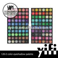 Cosmetics distributor! 120-2 eyeshadow palette sexy eye tattoo