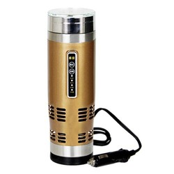 Car use for heating and cooling/Auto electronics 304 stainless steel best price high quality 12V heating and cooling car mug