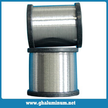 Aluminum wire used the shielding of coaxial cable
