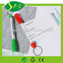 Novetly Promotional Banner Pen Pull Out Banner Pen with LED