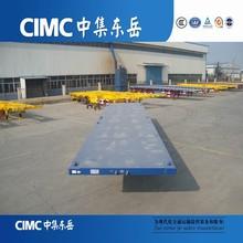 CIMC 40 Feet Container FlatBed Semi Trailer Truck Trailer Imports Dubai