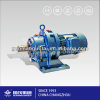 China manufacture reduction gear box for Cement mixers geared motor cycloidal pinwheel speed reducer