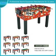 Model#HPS19 The latest combination multi-purpose football table/air hockey table/billiard table