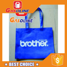 Elegant super quality fashion promotional pvc coated cotton bags with tote handle