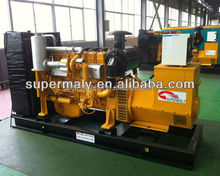 Water cooling 80KW gas generator with CE