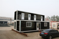 Panelized Economical Sale living container house wheels
