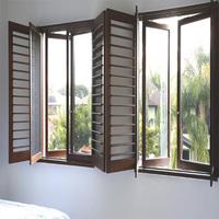 aluminium adjustable louver air tightness aluminum window