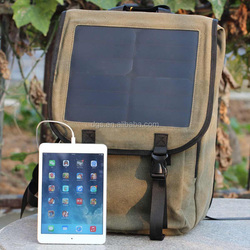 Sports Ultra-slim Highest Efficiency Solar Panel Portable Solar Backpack With Speakers