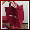 High quality shopping bag / nonwoven bag / red tote bags