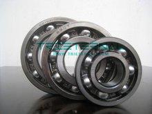Chrome steel deep groove loose ball bearings 6202ZZ