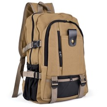 2015 Fashion Outdoor Unisex Vintage Canvas Backpack School Satchel Hiking Bag OS000852