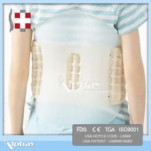 car seat lumbar support for body gravity reducing