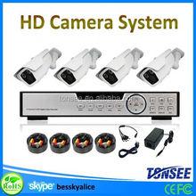 cctv camera case,4ch long distance night vision camera 1080p cctv camera system