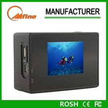 Sport dv,new arrival rechargeable battery 1080p sports video camera,full hd 1080p sports camera
