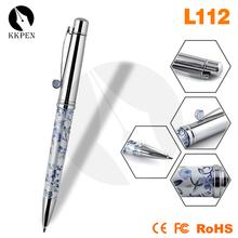 Shibell rhinestone ball pens twist open ballpoint pen plastic touch stylus pen