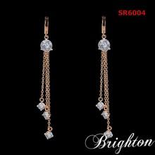Wholesale fashion jewelry gold earring designs new model earrings