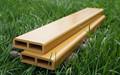 Alta calidad Anti ultravioleta wood plastic composite WPC valla