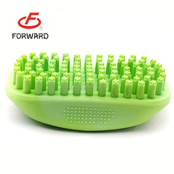 Pet products plastic pet brush pet grooming brush for wholesale