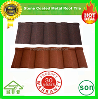 construction material new arrival stone coated roofing tile