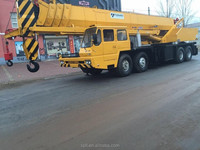 80 ton used tadano truck crane original Japan mobile crane hot sale