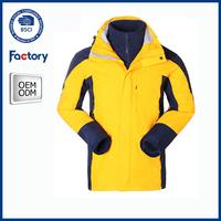 100% polyester lightweight 10000mm waterproof softshell jacket
