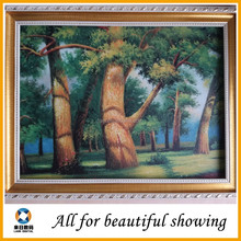 Hot selling oil painting for decoration, home decor oil painting, roll oil canvas material