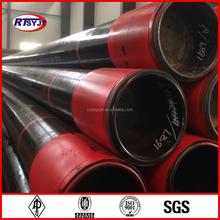 Estándar de aceite de acero cañería de la cubierta de calidad superior API spec 5ct estándar de aceite de acero cañería de la cubierta