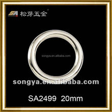 Song A Metal Latest design Popular shiny gold key ring o ring buckle